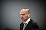 June 22, 2012 - Oslo, Norway: Lawyer of terrorist Anders Behring Breivik appears in court during the last day of the trial in Oslo courthouse, Geir Lippestad will today try to prove that Breivik is not insane.
