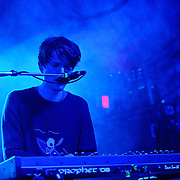 AUSTIN, TX - March 16th: James Blake performs at the NPR Music showcase at Stubb's as part of the 2011 South by Southwest Festival. (Photo by Kyle Gustafson)