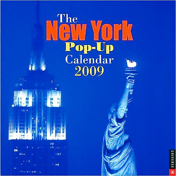 Pop Up Calendar, New York