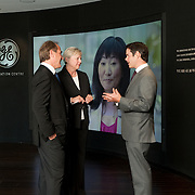 GE Innovation Centre Launch, Calgary, Alberta, Canada.<br /> Agencies: The Barbarian Group / Hornall Anderson<br /> Photography: Brett Gilmour