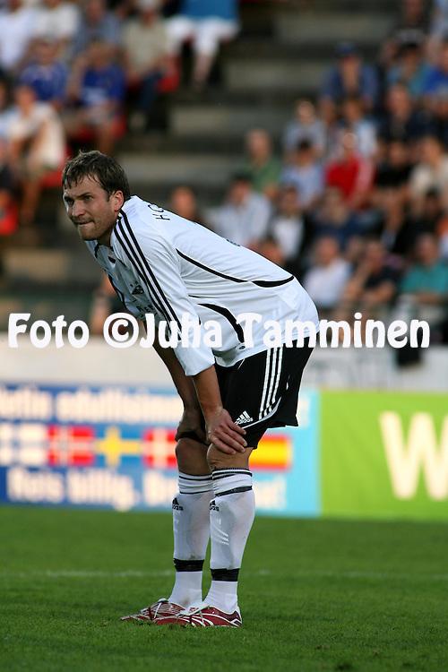 15.08.2007, Ratina, Tampere, Finland..UEFA Champions League 2007-08, 3rd qualifying round, 1st leg match.Tampere United - Rosenborg BK.Miika Koppinen - Rosenborg.©Juha Tamminen.....ARK:k