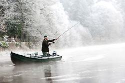 The Dunkeld Hilton for the opening of the Tay for the 2012 fishing season..Pic © Michael Schofield...