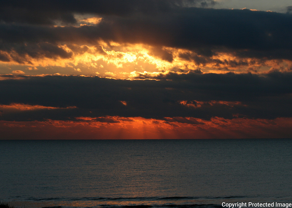 Jekyll Island sunrise beach