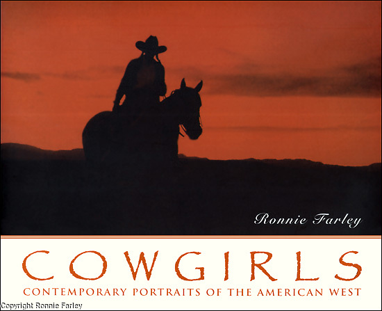 ISBN 1-56025-179-4<br /> <br /> COWGIRLS: Contemporary Portraits of the American West, by Ronnie Farley<br /> <br /> Pay pal, credit card, or check.<br /> $25 + $5.00 p &amp; h to:<br /> <br /> Ronnie Farley<br /> P.O. Box 423, Beacon, NY 12508