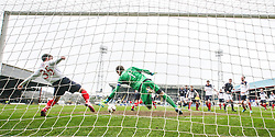 Falkirk's Mark Millar clears.<br /> Dundee 0 v 1 Falkirk, Scottish Championship game played today at Dundee's Dens Park.<br /> &copy; Michael Schofield.
