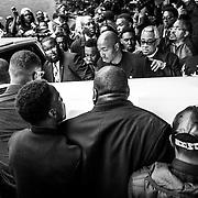 WASHINGTON, USA - APRIL 27: Protests around Mondawmin Mall in Baltimore, USA on April 27, 2015.