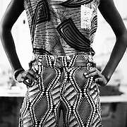 The designers use mostly South Sudanese fabric, or coming from East Africa. Four out 5 are South Sudanese, and the guest designer is from Ethiopia.