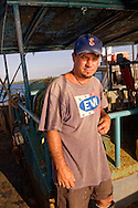 Fisherman in Cayos Ana Maria, Ciego de Avila, Cuba.