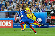 SAINT-DENIS, FRANCE, 06.10.2016 - FRANCE-ROMANIA - Payet of France during the match against Romania in a match valid for the 1st round of Group A of Euro 2016 in the Stade de France in Saint-Denis, this sexta- Friday (10).