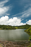 2014-01-28-Lago Las Garzas, Adjuntas, Puerto Rico. Las Garzas Lake located in Adjuntas, Puerto Rico.