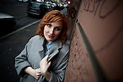 Frankfurt am Main | 19. February 2016<br /> <br /> Comedian Lena Liebkind at M&uuml;nchener Strasse, Frankfurt am Main, Germany.<br /> <br /> photo &copy; peter-juelich.com