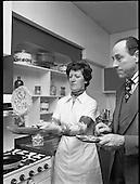 1977 - Pancake making at Ranks.   (K91)