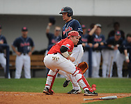Mississippi's Matt Snyder vs. Austin Peay at Oxford-University Stadium on Wednesday, March 10, 2010 in Oxford, Miss.