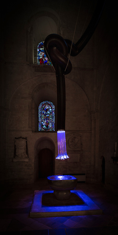 Connection by Galia Amsel on display at Chichester Cathedral in West Sussex.<br /> Picture date: Monday November 14, 2016.<br /> Photograph by Christopher Ison &copy;<br /> 07544044177<br /> chris@christopherison.com<br /> www.christopherison.com