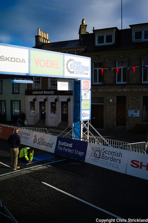 Tour of Britain 2012, Stage 3, Jedburgh, Scottish Borders.