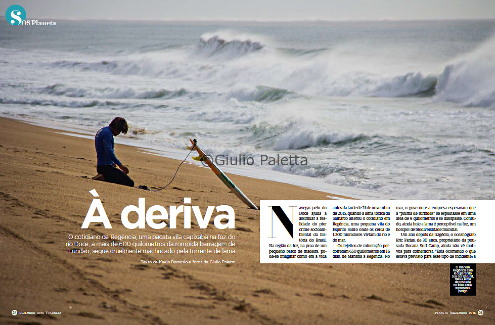 """A Deriva"", published in Revista Planeta magazine, Brazil, December 2016"