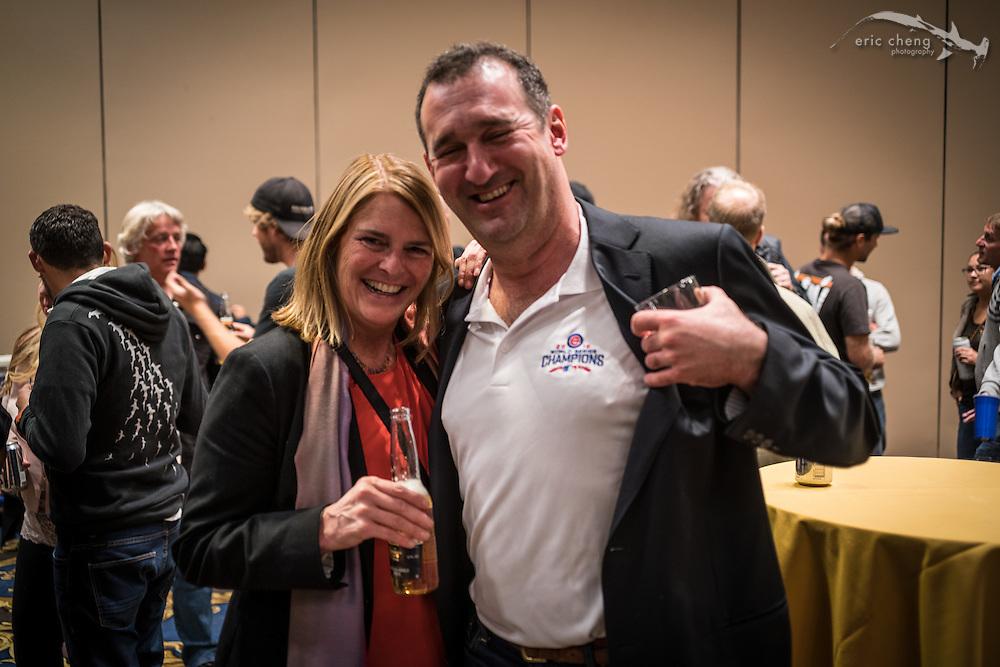 Jenny Collister and Jeff Yonover (DEMA 2016, Las Vegas)