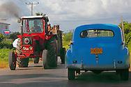Traffic in Pinar del Rio, Cuba.