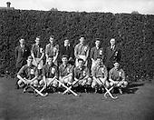 1960 - Hockey: Ireland v Wales Schoolboys Hockey International