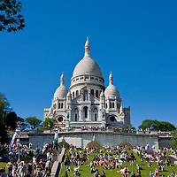 Central Paris in May sunshine