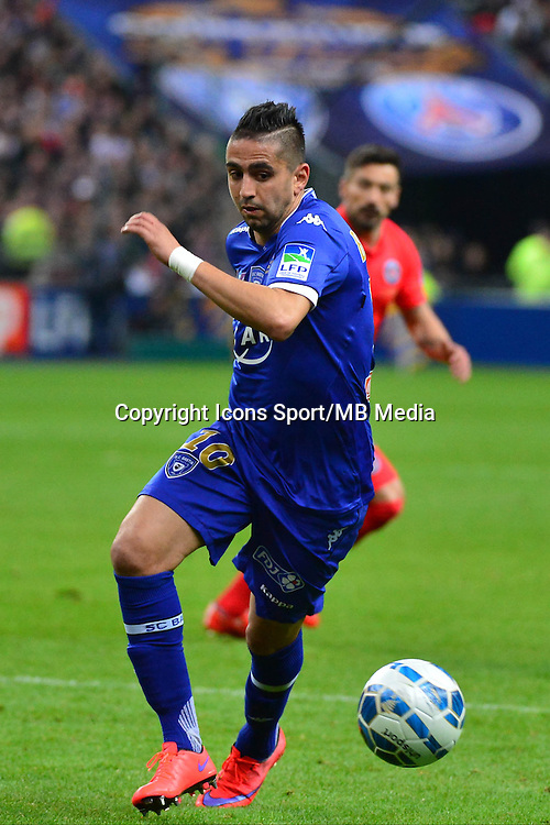 Ryad BOUDEBOUZ    - 11.04.2015 -  Bastia / PSG - Finale de la Coupe de la Ligue 2015<br />Photo : Dave Winter / Icon Sport