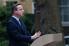 2016-06-21 Cameron makes impassioned plea in Downing Street for EU Remain vote.