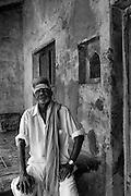 Family at 4 Sattayappar Kovil Mada Vilagam, Nagapattinam..Man in white: K. Govinda Raj...
