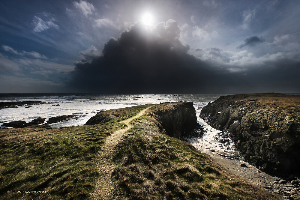It was a day of mixed weather; brilliant sunshine then violent hail showers, but even when things seemed at their darkest, the burning sunshine was always just behind. The whole scene was visual metaphor for things in my life at that moment.