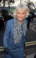 FEB 19 2014 Duchess of Cornwall visits Trinity Hospice