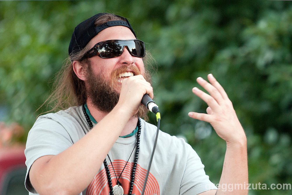 Andy O (Andrew Heikkila) performs at the Mics and Mini Ramps, a hip hop show and mini ramp contest on June 25, 2016 at The Shredder in Boise, Idaho. (Gregg Mizuta/greggmizuta.com)<br /> <br /> Performances by Edable &amp; Elms One, Axiom Tha Wyze &amp; Andy O, Tony G, and Auzomatik. Food by Wetos Locos, and live painting by Elms One.