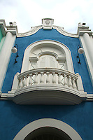 The colonial architecture of Macau is predominantly western with the Portuguese playing the most significant part. Spanish and Italian architectural forms also contributed  with regards to religious architecture.  The mixed architectural sensibility dotting the architecture of Macau are first and foremost the contribution of the Portuguese.
