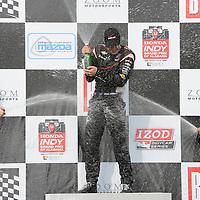 2012 INDYCAR RACING BIRMINGHAM