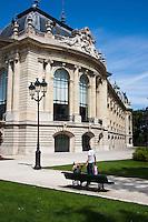 Petit Palais Paris France in Spring time of May 2008