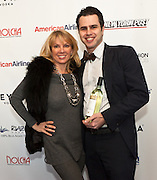 """Ramona Singer, cast member of Bravo network's Real Housewives of New York City and Arthur Mandel, Co-founder of Nolcha.Nolcha supports the growth of ethical fashion and celebrate independent fashion brands who hold to sustainable, organic and eco-friendly fashion standards.  Nolcha is an award-winning leading global platform advancing the business of independent fashion designers and retailers via social e-commerce, fashion week events and an educational video portal. Ramona Singer, cast member of Bravo network's Real Housewives of New York City, is an astute businesswoman and a true aficionado of fashion with a passion for being a wife and mother. Her newest venture is Ramona Pinot Grigio made in the Venoto region of Italy, partnering with a 75 year-old Italian wine company. Ramona can now do """"Turtle Time"""" all the time! Ramona has taken the beauty and accessory industries by storm with her Tru Renewal skincare line, her True Faith jewelry collection, and, this March, her two-year anniversary for Ramona Singer Jewelry on HSN. She also has her Amazon store, Ramona Singer Collections."""
