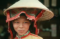 Black Thai tribal woman in Northern Vietnam