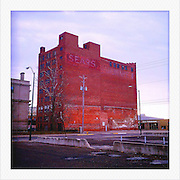An old Sears building is shown December 31, 2011, in Ft. Dodge, IA...Photo by Khue Bui