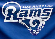 Football: Los Angeles Rams training session