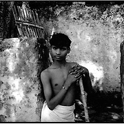 A young boy in a coal mining community. Pollution from mining has led to an increase in respiratory diseases among the  communities..03/2003.