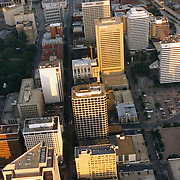 Aerial photograph of  Richmond, Virginia