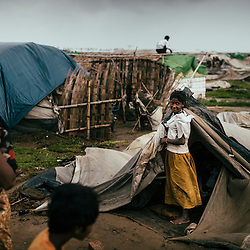 Sittwe IDP camps. May 2013.