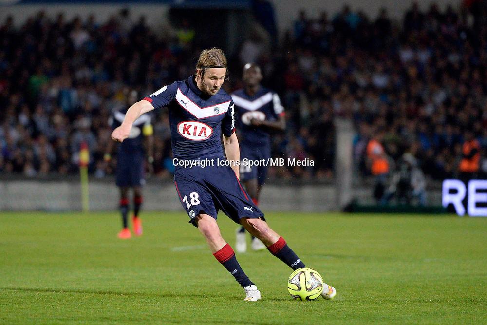 Jaroslav PLASIL - 12.04.2015 - Bordeaux / Marseille - 32eme journee de Ligue 1 <br />Photo : Caroline Blumberg / Icon Sport