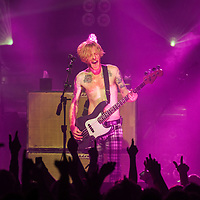 James Johnston  of Biffy Clyro performs on stage at theBarrowlands on December 7th, 2014 in Glasgow .Photo by Ross Gilmore