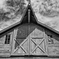 Shaker Barn at Hancock Shaker Village, Massachusetts