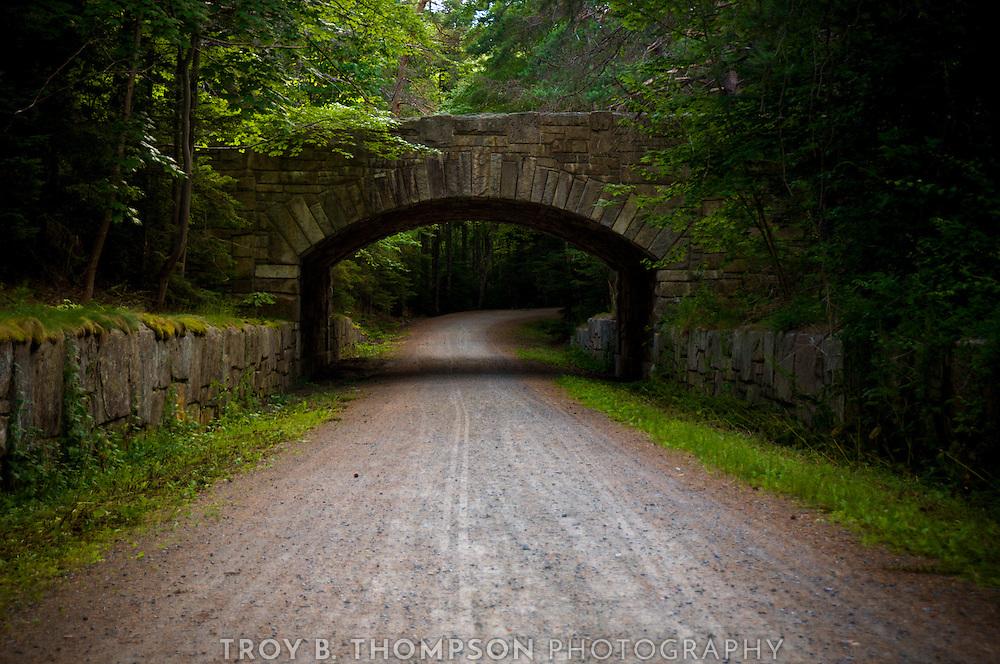 Jordan Pond Road Bridge.Carriage Road 38/30