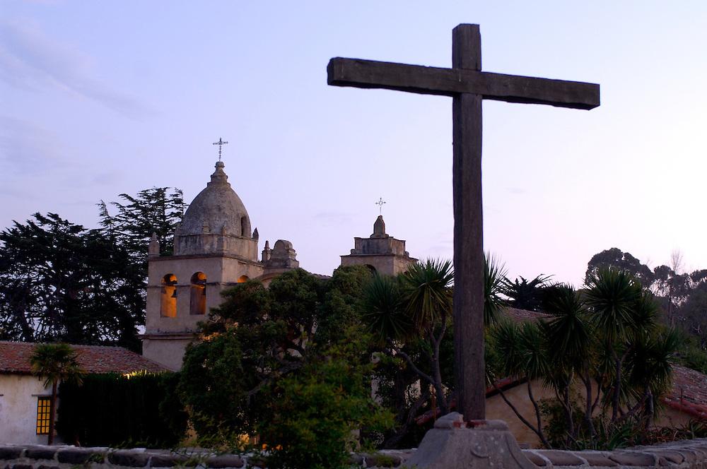 Mission San Carlos Borromero del Rio Carmelo, Monterey Peninsula, Carmel by the Sea, California, United States of America