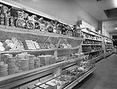 1959 - Interiors of Messrs H. Williams and Co. Ltd. self-service store, Rathmines