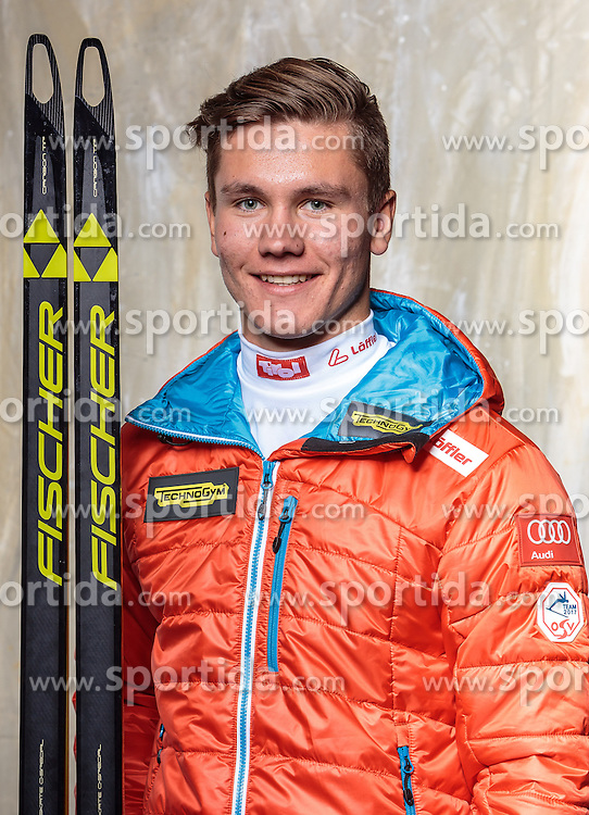 08.10.2016, Olympia Eisstadion, Innsbruck, AUT, OeSV Einkleidung Winterkollektion, Portraits 2016, im Bild Michael Trieb, Biathlon, Herren // during the Outfitting of the Ski Austria Winter Collection and official Portrait Photoshooting at the Olympia Eisstadion in Innsbruck, Austria on 2016/10/08. EXPA Pictures © 2016, PhotoCredit: EXPA/ JFK