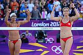 Beach Volleyball, Womens - ITA (Cicolari/Menegatti) vs USA (May-Treanor/Walsh)