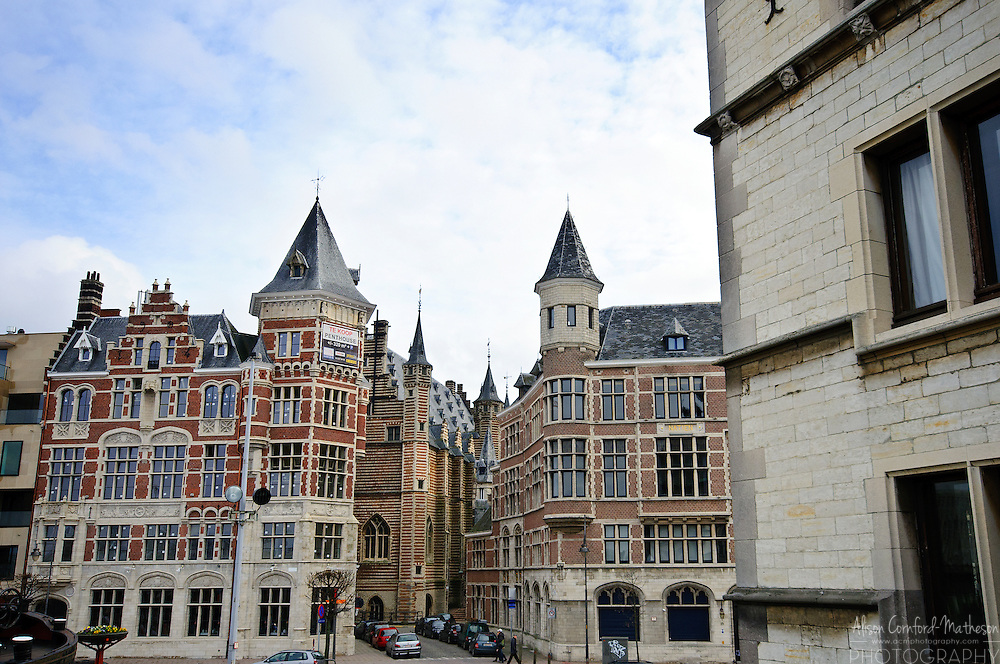 Flemish Architecture in Antwerp, Belgium
