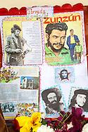 Image of Ernesto Che Guevara in Manuel Lazo, Pinar del Rio, Cuba.